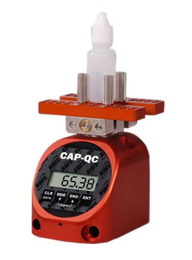 AWS CAP-QC-100z Small Cap & Vial Torque Tester, 100 oz-in Capacity
