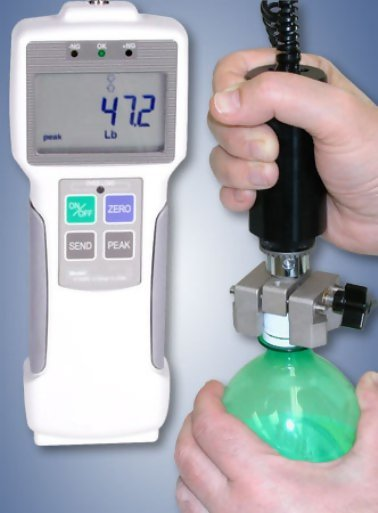 CAP-HT-RS Hand-Held Cap Torque Tester With Data Output & Memory